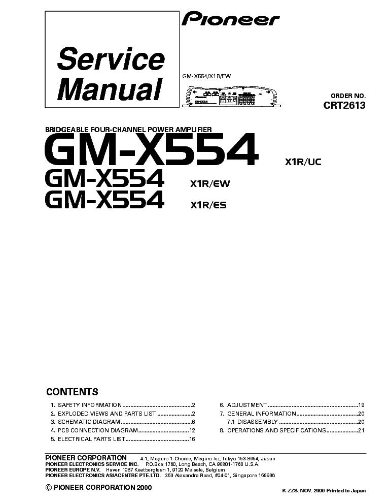 Pioneer Mvh X370bt Mvh X375bt Crt5567 Sm Service Manual Download Schematics Eeprom Repair Info For Electronics Experts