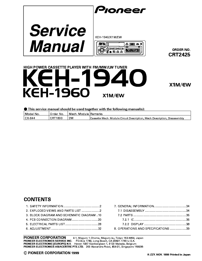 deh-p3800mp manual owners