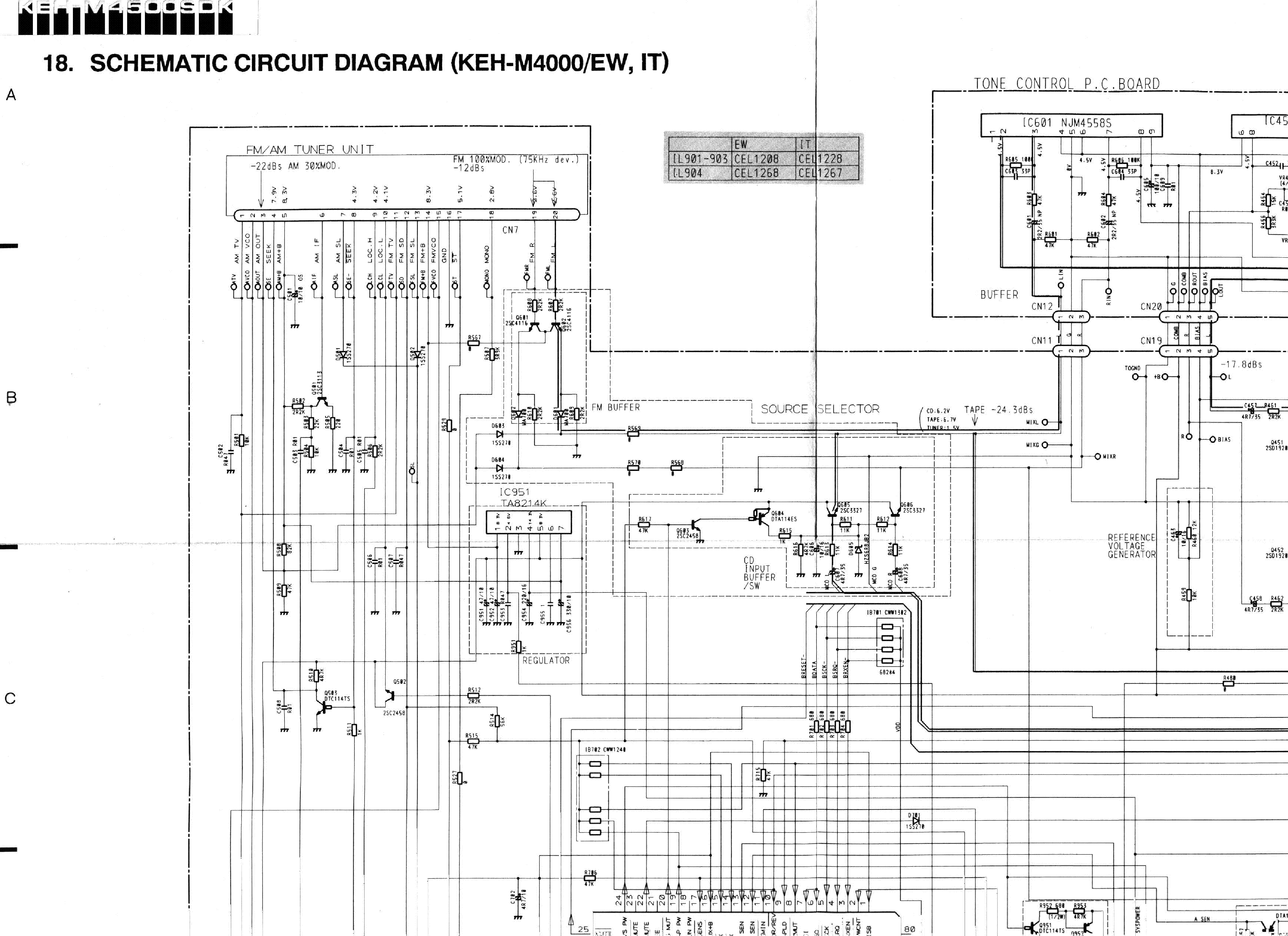 pioneer keh m4000 service manual schematics eeprom repair info for electronics experts