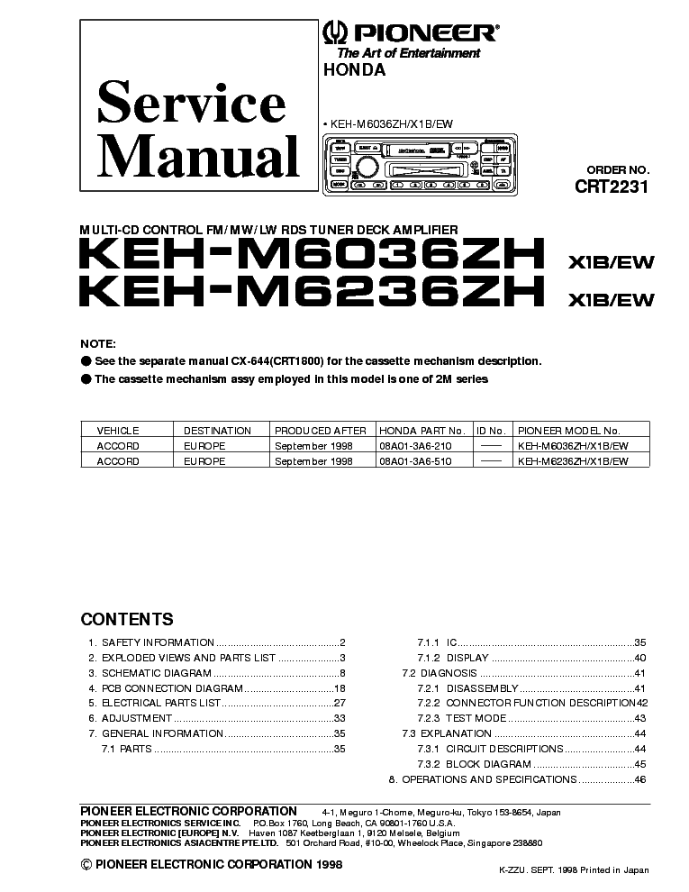 wiring diagram for pioneer keh 1080 wiring image pioneer keh 1080 wiring diagram wiring diagram and schematic on wiring diagram for pioneer keh 1080