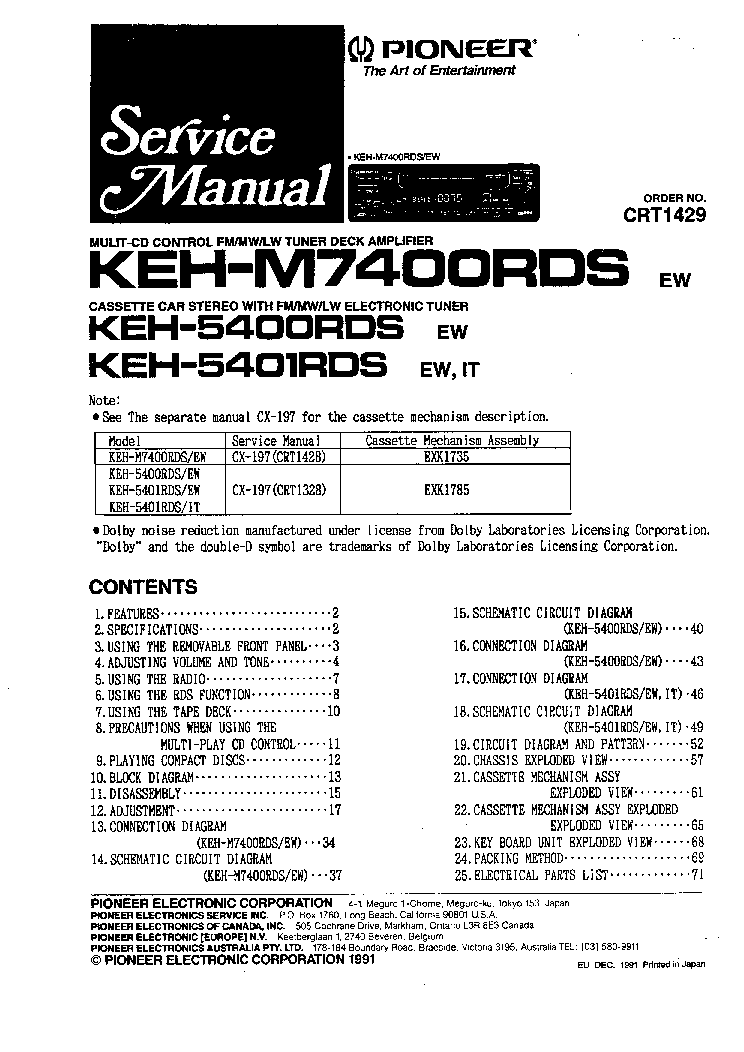 pioneer_keh m7400rds_keh 5400rds_keh 5401rds.pdf_1 cx 33 wiring diagram diagram wiring diagrams for diy car repairs cx 33 wiring diagram at edmiracle.co