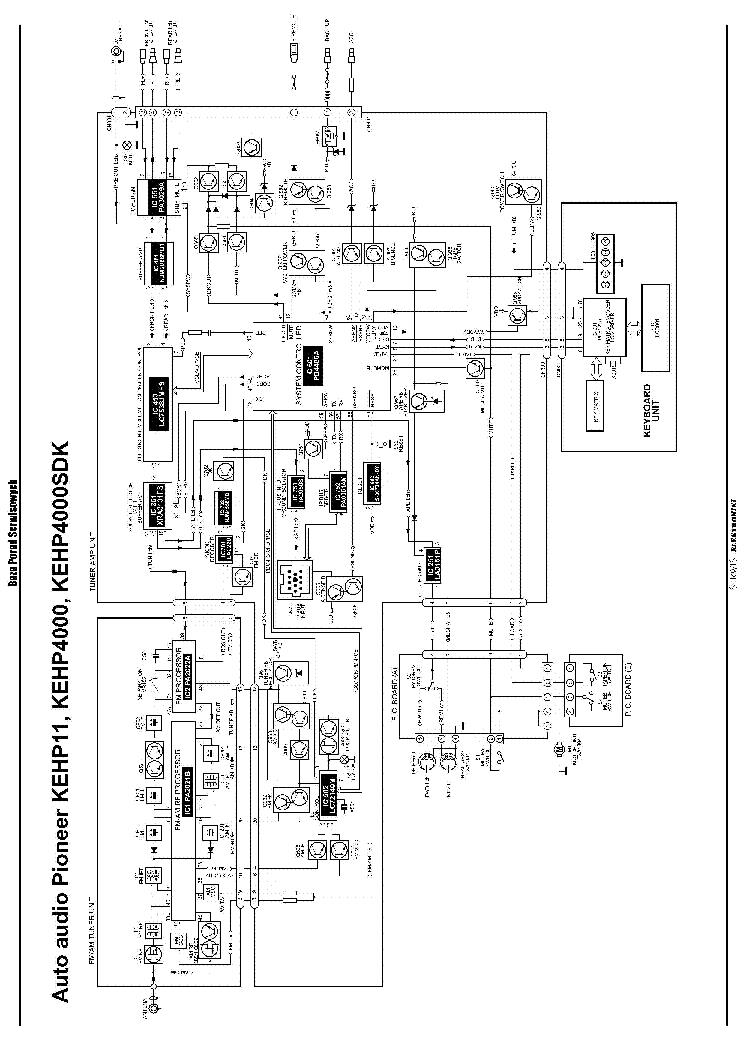 PIONEER KEH-P11 KEH-P4000 KEH-P4000SDK SCH Service Manual download