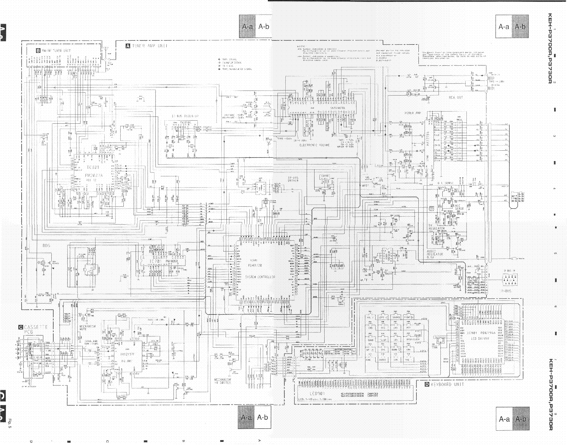 Pioneer Deh 8300sd P8300ub 8350sd Service Manual Download Avic F700bt Wiring Diagram