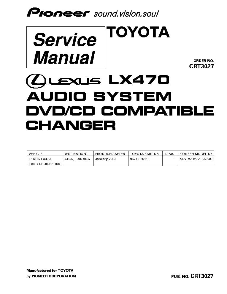 lexus lx470 wiring diagram pdf lexus spark plugs wiring