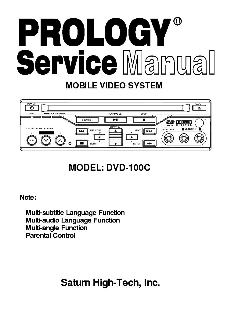 Prology DVD-350U - скачать