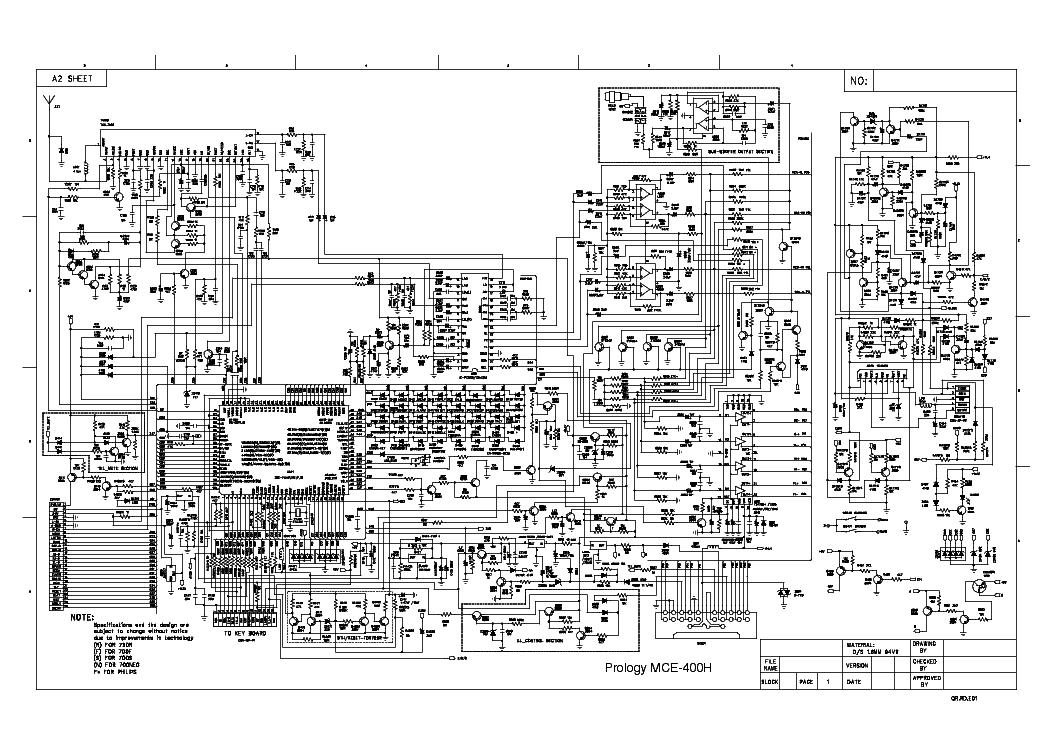 Схема prology mce 527u