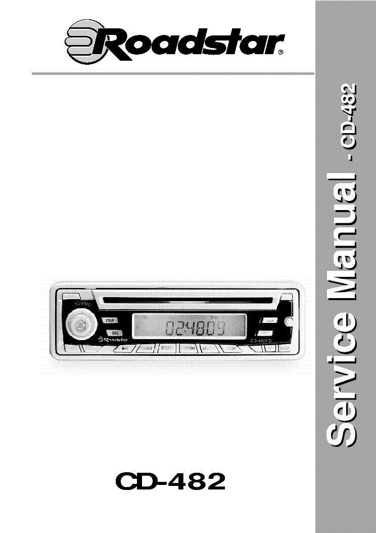 roadstar cd 482rd service manual download schematics eeprom rh elektrotanya com