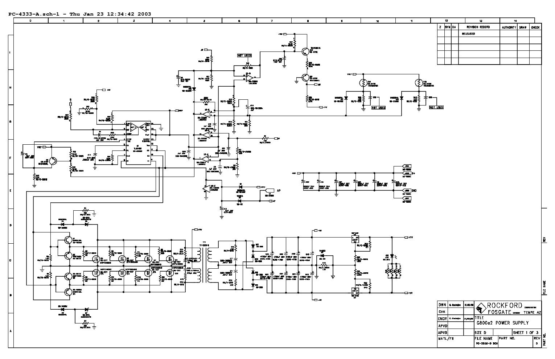 rockford fosgate g800a2 punch 801s pc 4333 service manual schematics eeprom repair