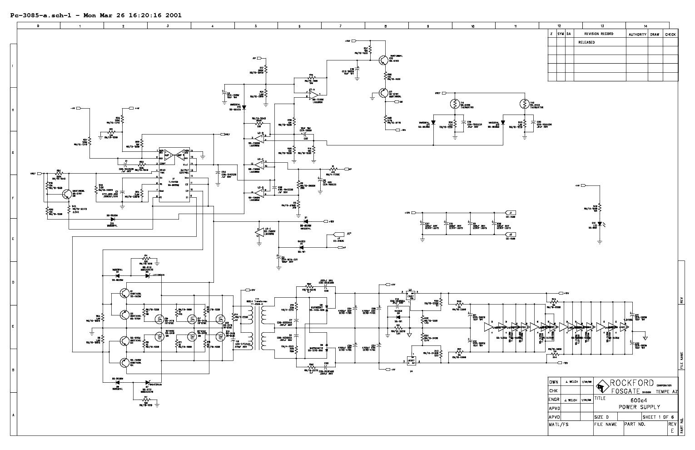 Rockford Fosgate Schematics | Wiring Schematic Diagram