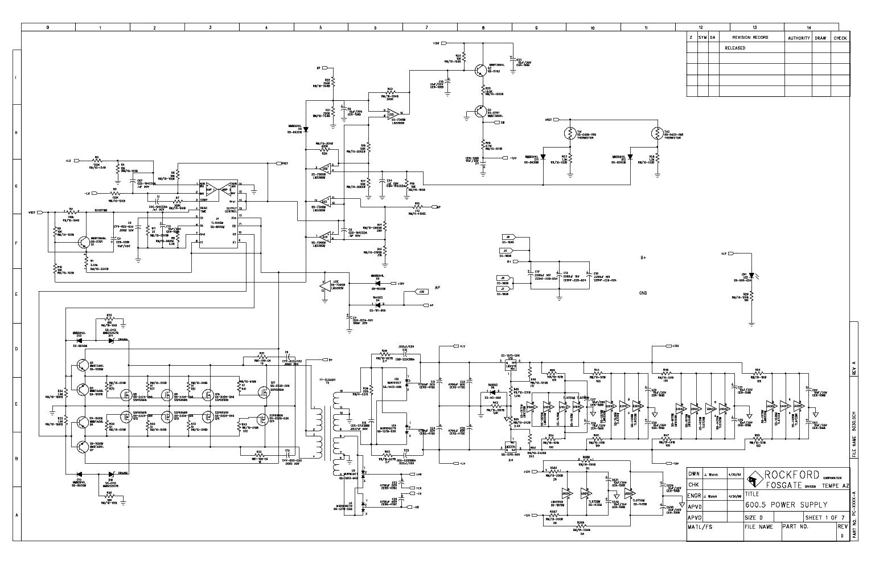 rockford fosgate 600a5 pc 1986 e service manual free schematics eeprom repair info