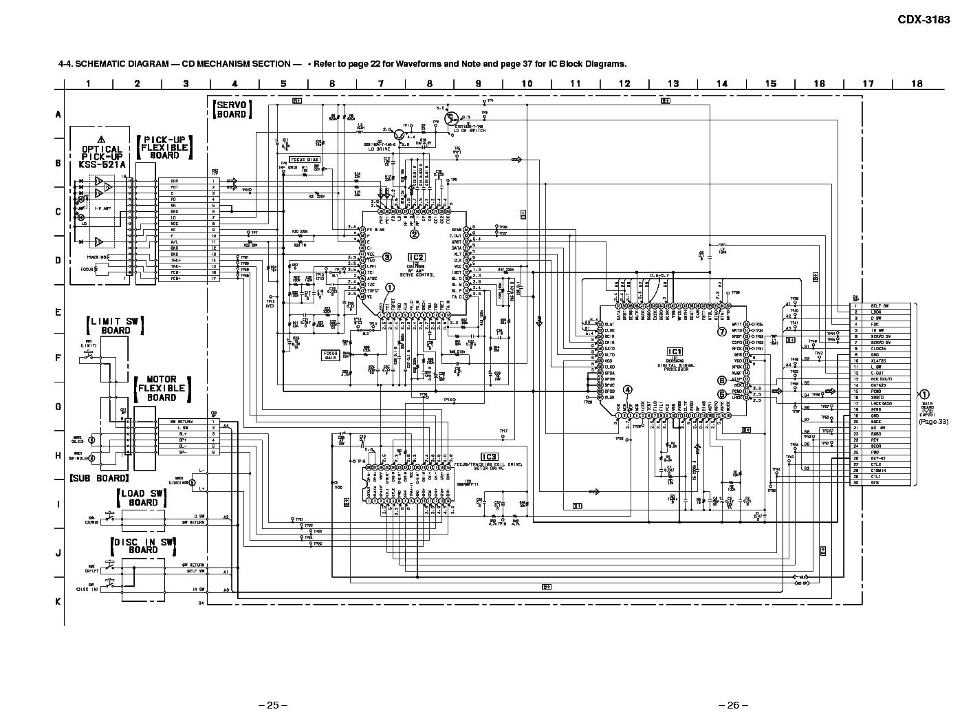 Cdx Gt340 Sony Xplod Wiring Diagram Sony Cdx Gt200 Wiring Diagram Sony