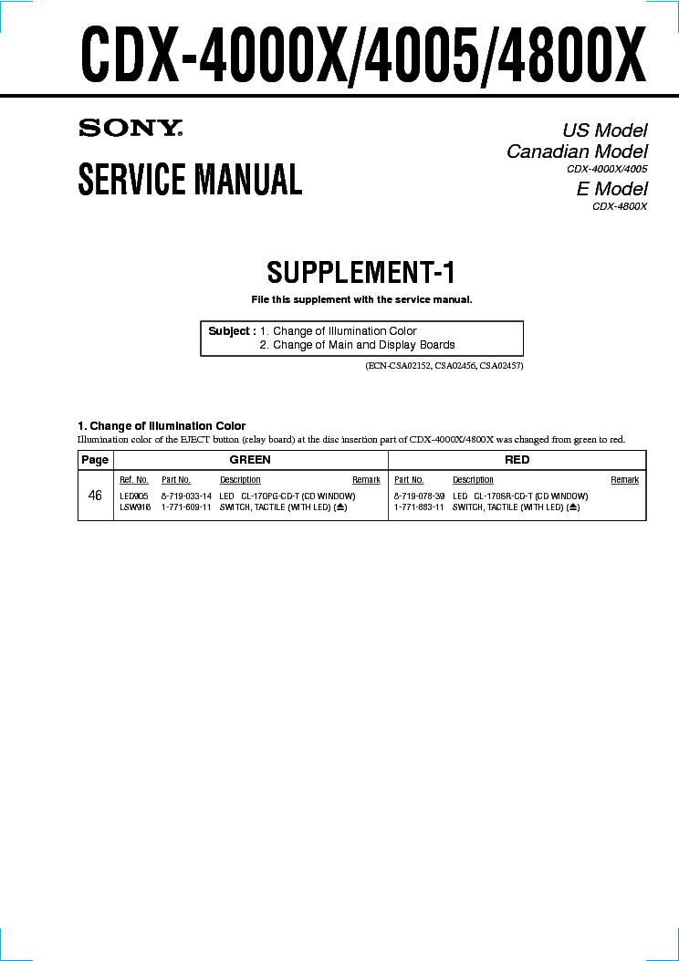 Sony Cdx S2000 Wiring Diagram - Getting Started of Wiring Diagram  endurobikes.co