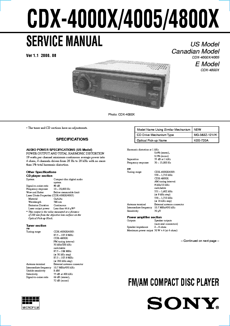 sony_cdx 4000x_4005_4800x_ver1.1_sm.pdf_1 sony cdx 4000x 4005 4800x ver1 1 sm service manual download sony cdx 4000x wiring diagram at virtualis.co