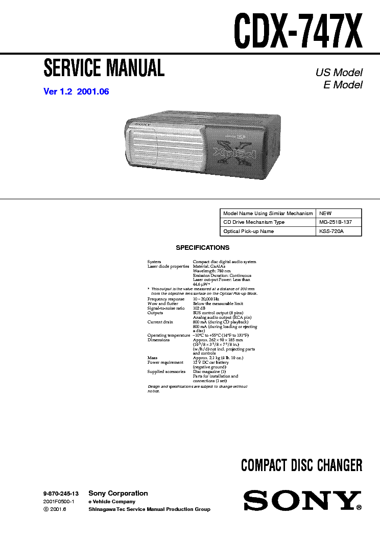 sony_cdx 747x.pdf_1 sony cdx l410 service manual download, schematics, eeprom, repair sony cdx l410x wiring diagram at mifinder.co