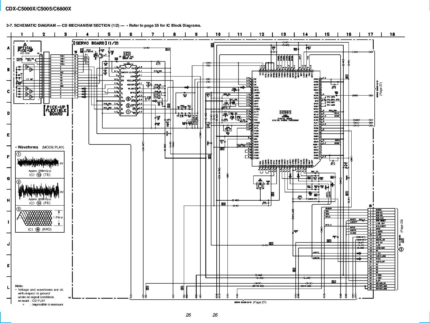 Wiring Diagram Sony Drive