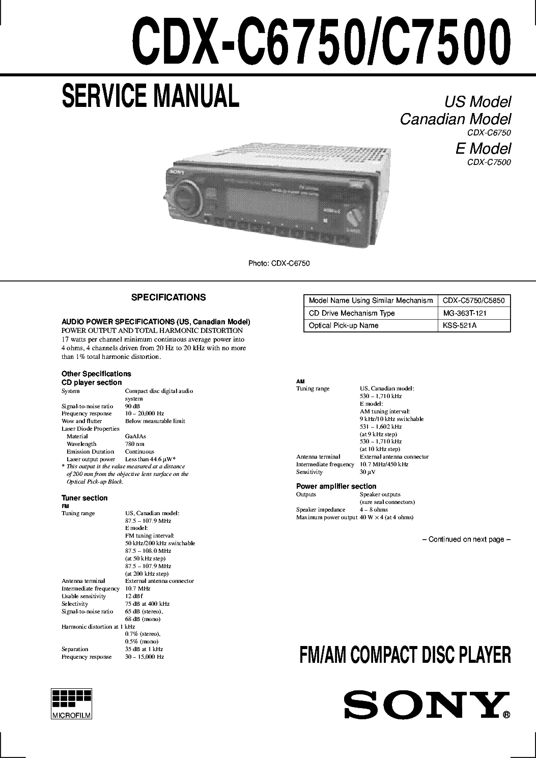 sony cdx 4000x wiring harness sony cdx gt350mp wiring