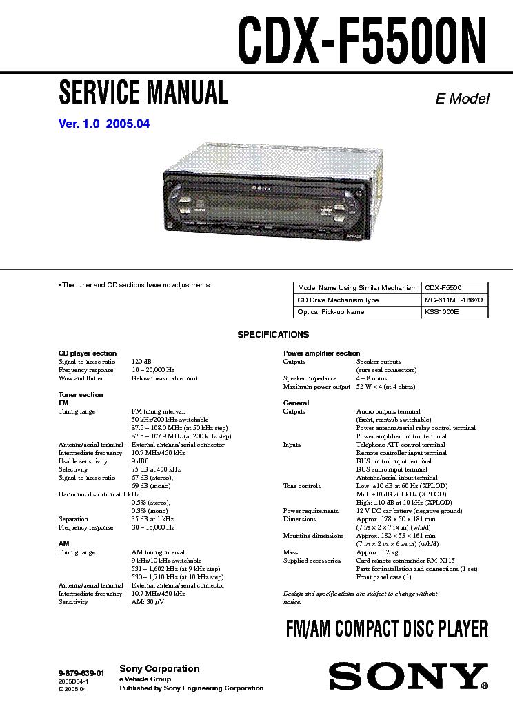 Sony Cdx C410 Wiring Diagram - Great Installation Of Wiring Diagram Radio Wiring Diagram For Sony Xr C on