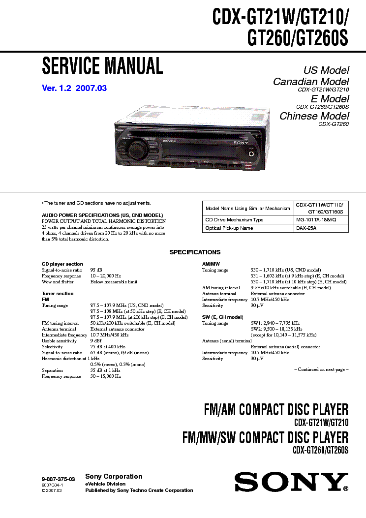 sony_cdx gt21w_gt210_gt260_gt260s_ver 1.2_sm.pdf_1 wiring diagram for sony radio the wiring diagram readingrat net sony cdx gt570up wiring diagram at virtualis.co