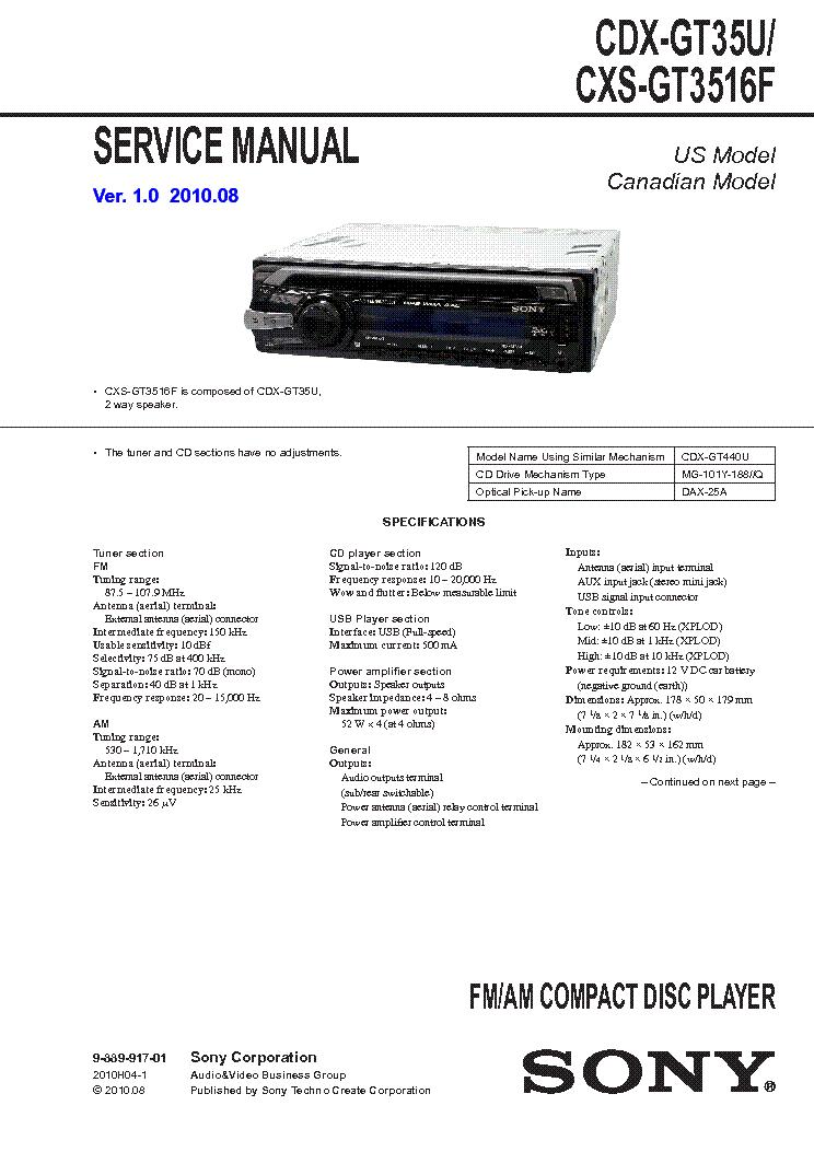 Sony cdx gt630ui wiring diagram trusted wiring diagram.