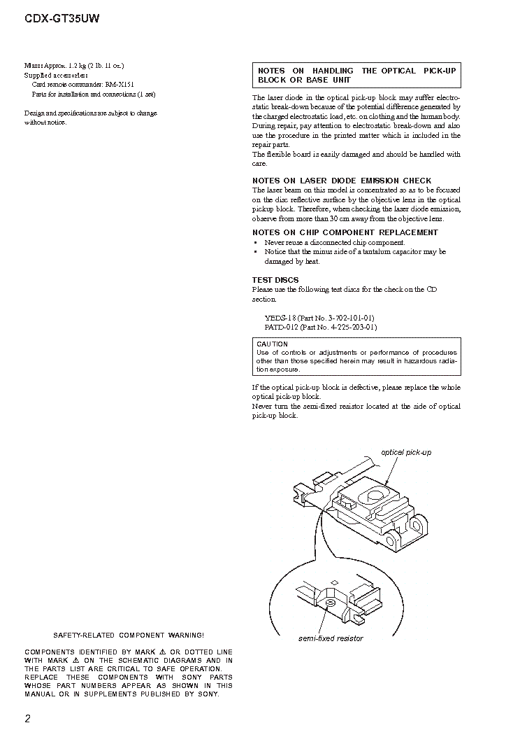 SONY CDX-GT35UW SM Service Manual download, schematics ... on sony cdx gt35uw manual, sony cdx illumination wire diagrams, sony cdx m610 wiring-diagram, sony cdx gt25mpw,