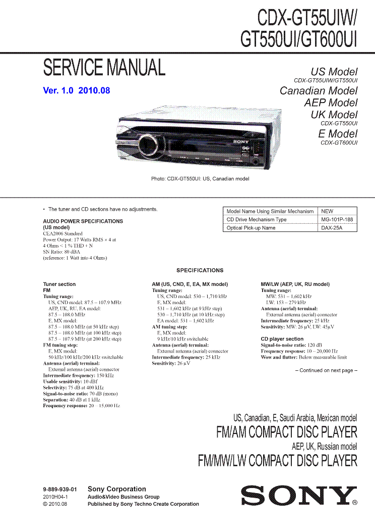 sony_cdx gt55uiw_gt550ui_gt600ui_ver1.0.pdf_1 sony cdx gt55uiw gt550ui gt600ui ver1 0 service manual download sony cdx gt540ui wiring diagram at gsmx.co
