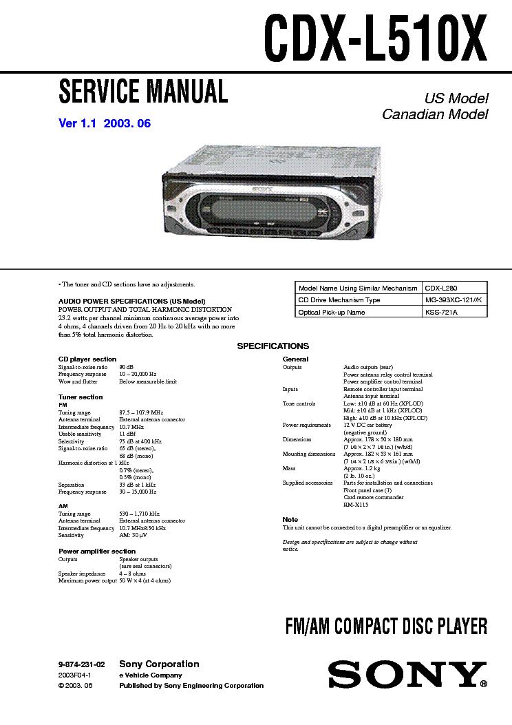 sony_cdx l510x_sm.pdf_1 sony cdx 4000x 4005 4800x service manual download, schematics sony cdx 4000x wiring harness at nearapp.co