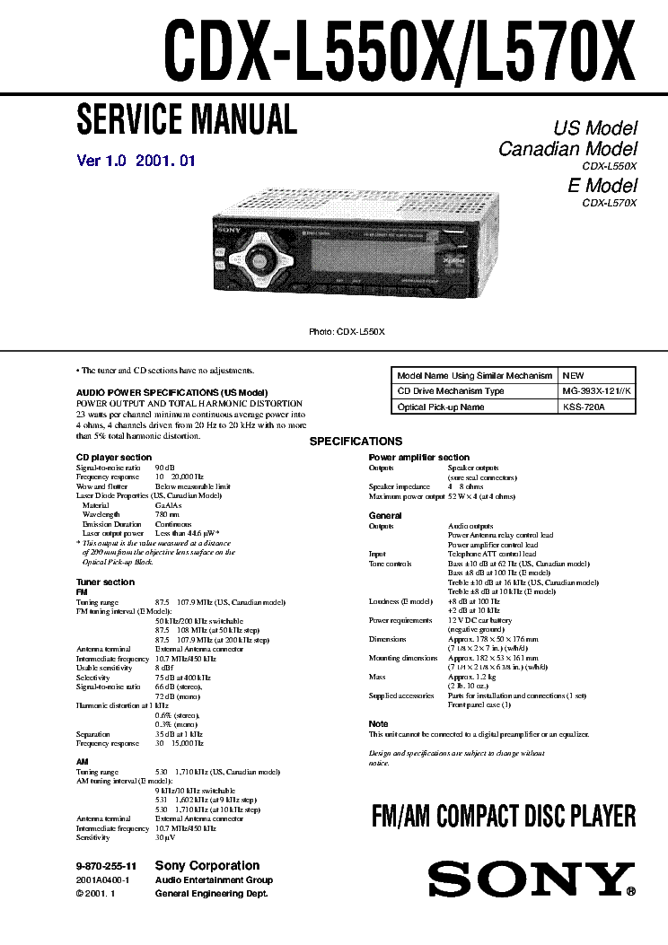 sony cdx l550x wiring diagram wiring diagram and schematic design sony car radio wiring diagram collection sony cdx l550x operating instructions