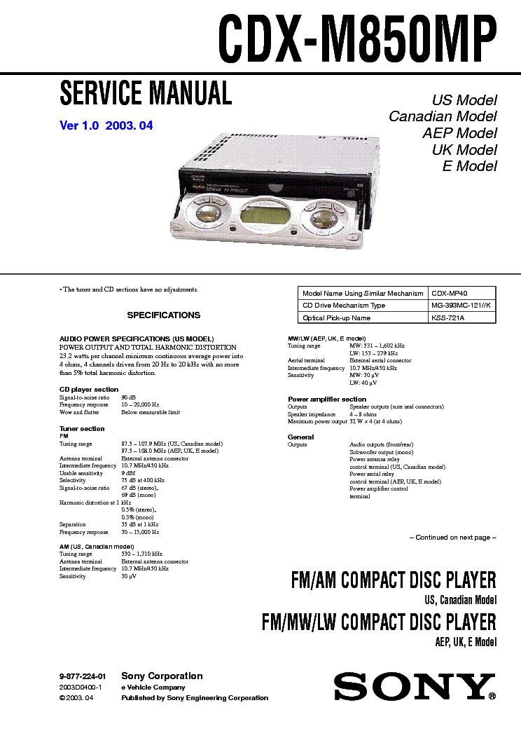 sony_cdx m850mp_ver1.0.pdf_1 sony cdx gt24w wiring diagram the best wiring diagram 2017 sony cdx gt520 wiring diagram at mifinder.co