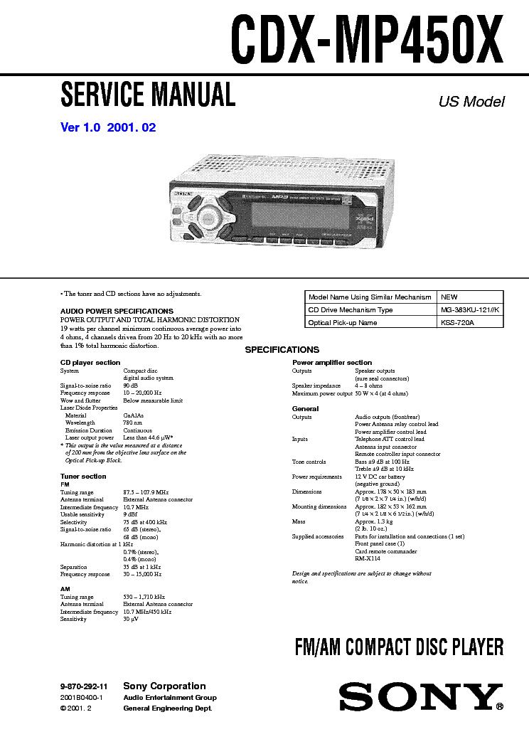 sony cdx mp40 wiring diagram sony cdx gt wiring diagram