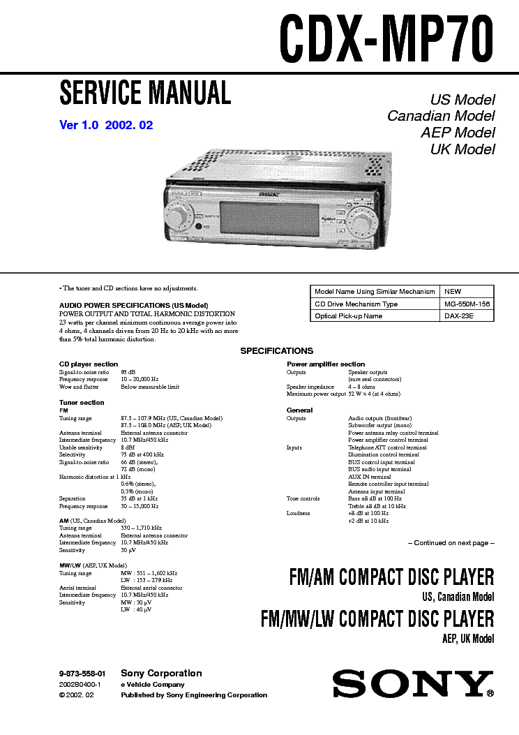 sony cdx gt260mp wiring diagram sony xplod 50wx4 wiring diagram elsavadorla