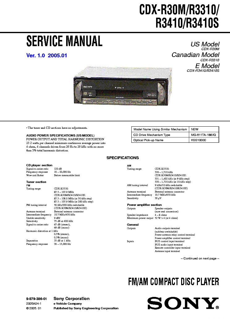 sony_cdx r3410_r30m_r3310_r3410s.pdf_1 sony cdx r3410 r30m r3310 r3410s service manual download wiring diagram for sony cdx r30m at n-0.co