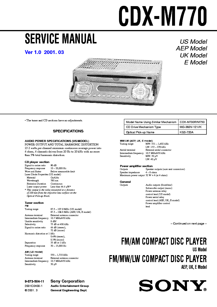 sony_cdx_m770.pdf_1 sony cdx r5515x r5610 r6550 sm service manual download, schematics sony cdx gt520 wiring diagram at readyjetset.co