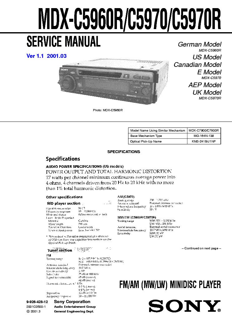 sony cdx 4250 4500 sm service manual download, schematics, eeprom CDX-GT250MP Wiring-Diagram