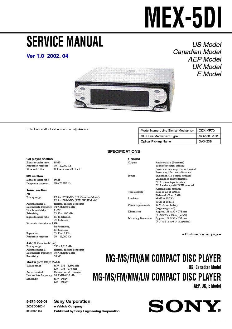 wiring diagram for sony mex 5di wire center u2022 rh escopeta co Sony Wiring Harness Diagram Sony 16 Pin Wiring Harness Diagram