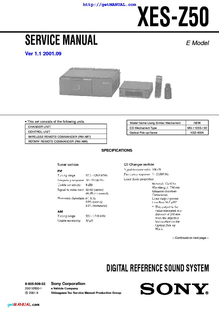 Sony Cdx Gt300mp Manual De Servicio Enthusiast Wiring Diagrams
