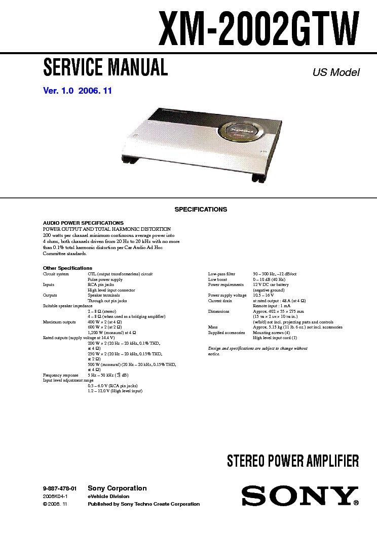 sony_xm 2002gtw_sm.pdf_1 sony xm 2002gtw sm service manual download, schematics, eeprom sony xplod xm-2002gtr wiring diagram at alyssarenee.co