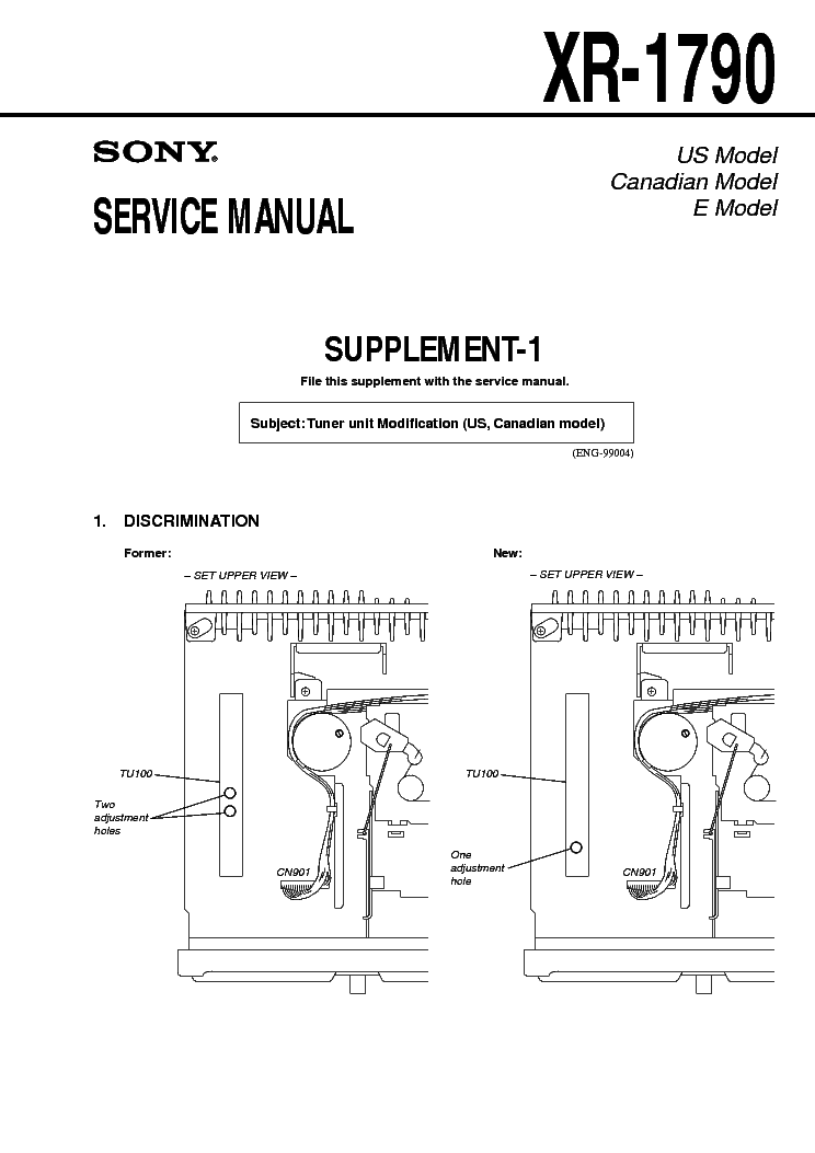 sony_xr-1790_suplement-1.pdf_1 Radiora Wiring Diagram on camper trailer, air compressor, ford alternator, driving light, basic electrical, ignition switch, 7 plug trailer, dump trailer, 4 pin relay, limit switch, dc motor, wire trailer, fog light,