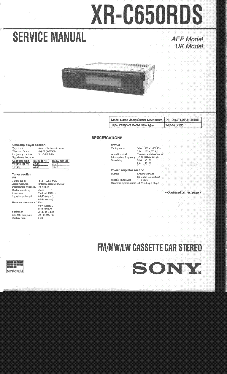 Wiring Diagram Sony Cdx 4180 Detailed Schematics Xplod And Diagrams Color Code