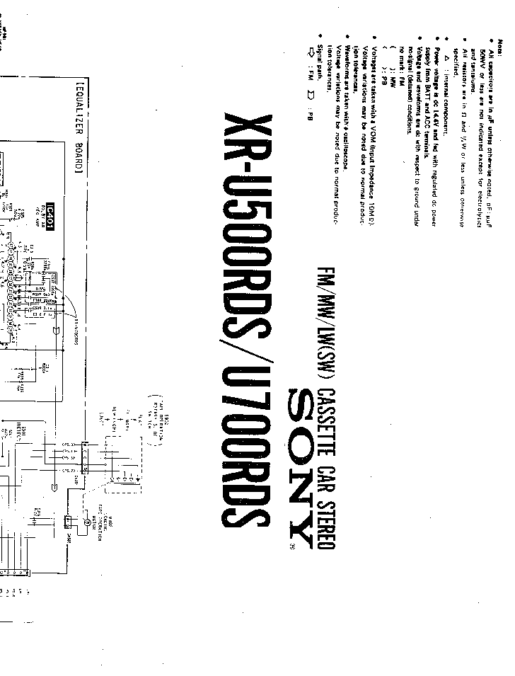 sony cdx 2500r service manual free download  schematics