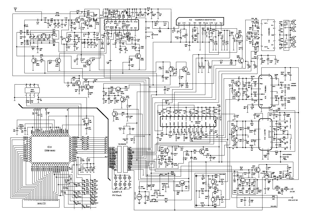 Магнитола vitek и схема