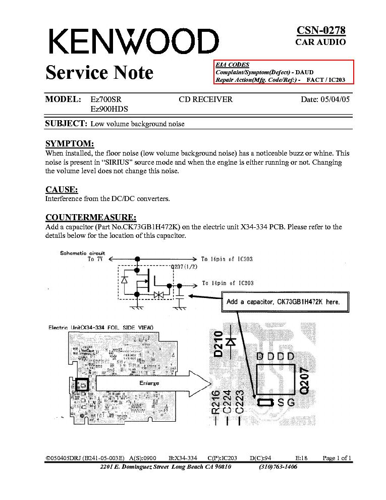 kenwood ez700sr ez900hds csn 0278 info service manual download rh elektrotanya com