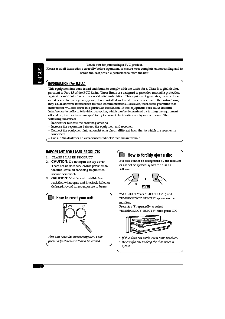 jvc kd-avx1 lvt1322-001b usermanual service manual (2nd page)