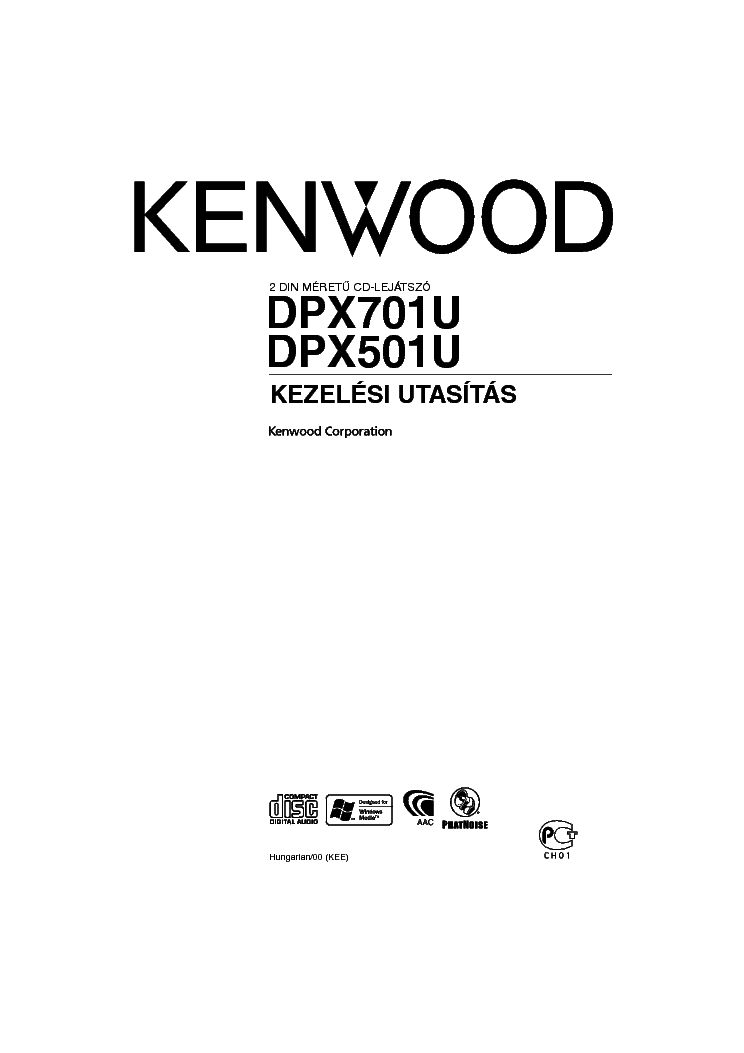 kenwood dpx701u dpx501u hungarian service manual download