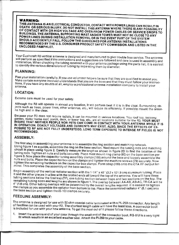 Cushcraft R5 Manual Ebook Download