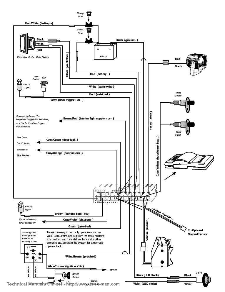 Clifford Car Alarm Manual - Wiring Diagram •