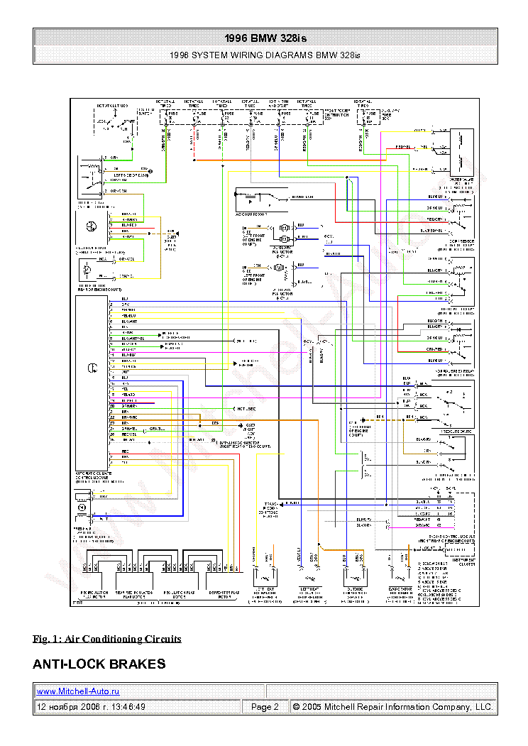 bmw_328is_1996_wiring_diagrams_sch.pdf_1 1996 bmw wiring diagram data wiring diagram