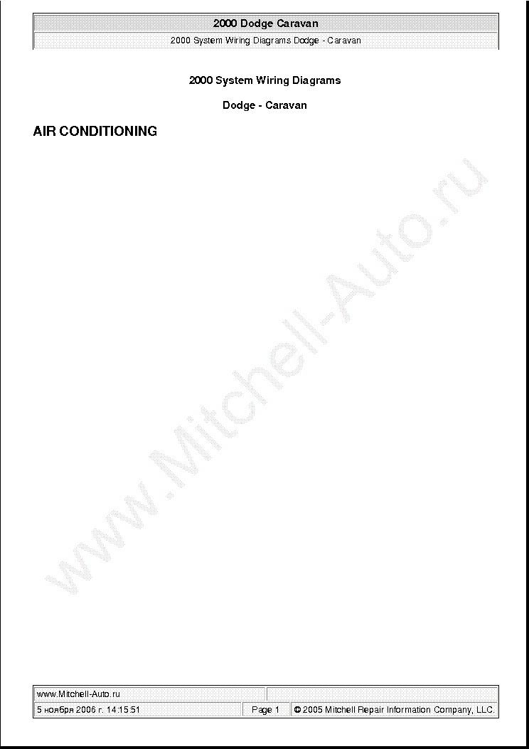 2003 dodge caravan repair manual pdf