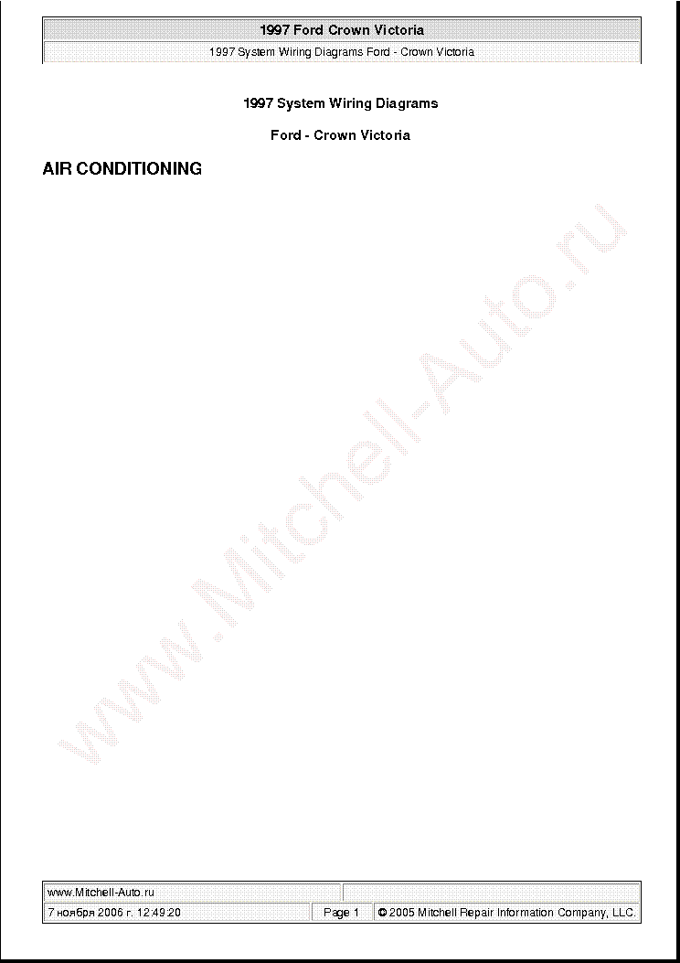 Ford Aerostar 1991 Wiring Diagrams Sch Service Manual Download  Schematics  Eeprom  Repair Info