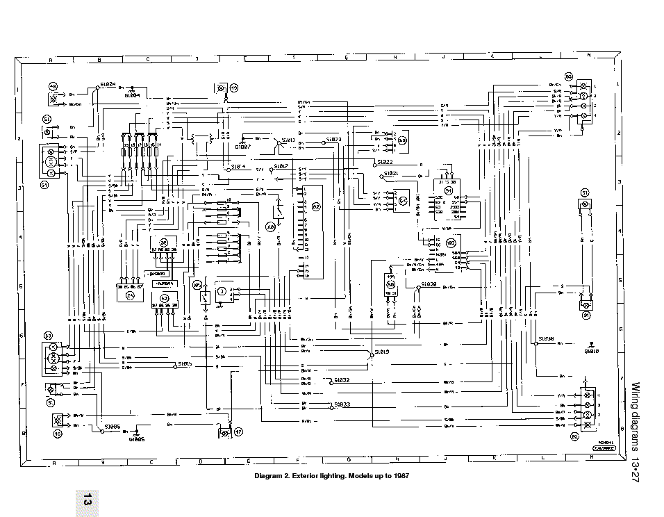 ford escort sierra orion 1987 wiring diagrams service manual download  schematics  eeprom
