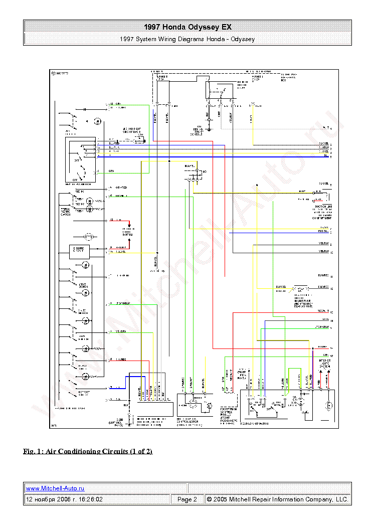 honda_odyssey_ex_1997_wiring_diagrams_sch.pdf_1 honda odyssey wiring diagram honda wiring diagrams collection Honda GX340 Manual PDF at downloadfilm.co